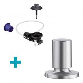 Blanco InFino® Nachrüst-Set für InFino-Ablaufsystem, mit Comfort Zug-Ablauffernbedienung edelstahl seidenglanz