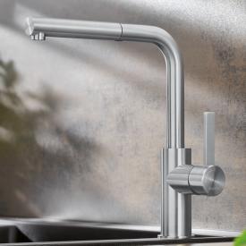 Blanco Lanora-S Einhebel-Küchenarmatur mit Auszugsauslauf