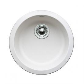 Blanco Rondo Spüle Ø 45 cm Becken SILGRANIT®PuraDur® II weiß