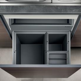 Blanco Select Orga Abfallsystem, mit 1 x Eimerdeckel, für 60 cm Unterschrank