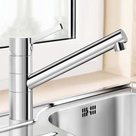 Blanco Tivo-F Einhebelmischer, Auslauf 360° schwenkbar, für Vorfenstermontage