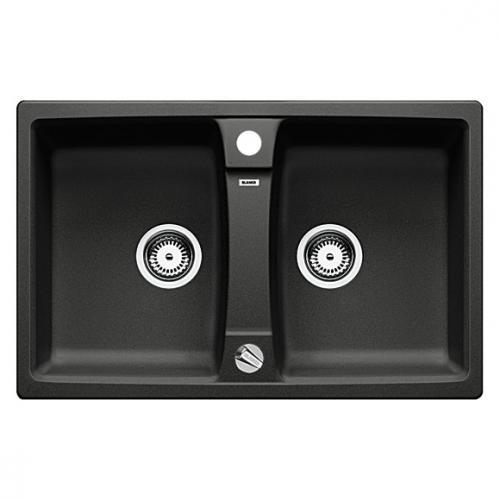 blanco lexa 8 sp le becken silgranit puradur ii anthrazit 514692 reuter. Black Bedroom Furniture Sets. Home Design Ideas