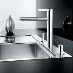 blanco linee s einhebelmischer auslauf ausziehbar chrom 517591 reuter. Black Bedroom Furniture Sets. Home Design Ideas
