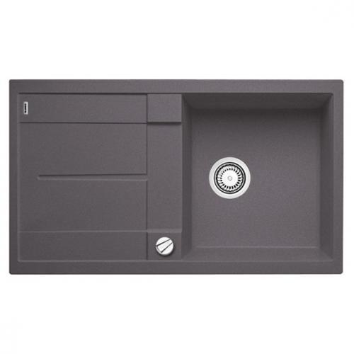 blanco metra 5 s sp le becken silgranit puradur ii felsgrau 518871 reuter. Black Bedroom Furniture Sets. Home Design Ideas