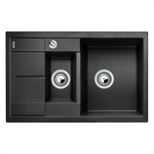 blanco metra 6 s compact sp le becken silgranit puradur ii anthrazit 513473 reuter. Black Bedroom Furniture Sets. Home Design Ideas