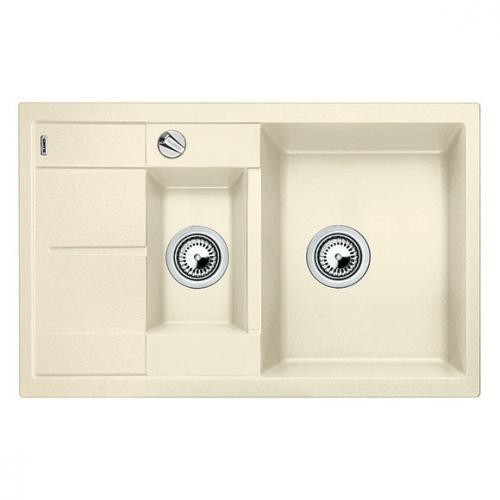 blanco metra 6 s compact sp le becken silgranit puradur ii jasmin 513469 reuter. Black Bedroom Furniture Sets. Home Design Ideas