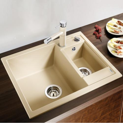 blanco metra 6 sp le becken silgranit puradur ii wei 516157 reuter. Black Bedroom Furniture Sets. Home Design Ideas