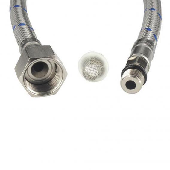 Blanco Flexschlauch blau mit Siebdichtung 65 mm M10 x 1 BL (NF)