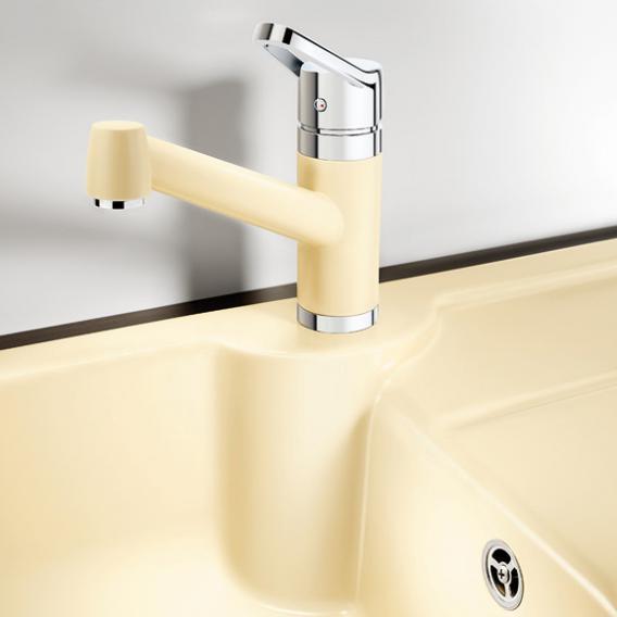 blanco idessa 45 s sp le becken keramik schwarz 514499 reuter. Black Bedroom Furniture Sets. Home Design Ideas