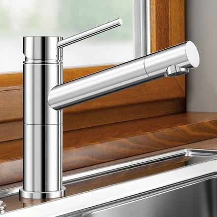 Blanco Alta-F Compact Einhebelmischer, für Vorfenstermontage