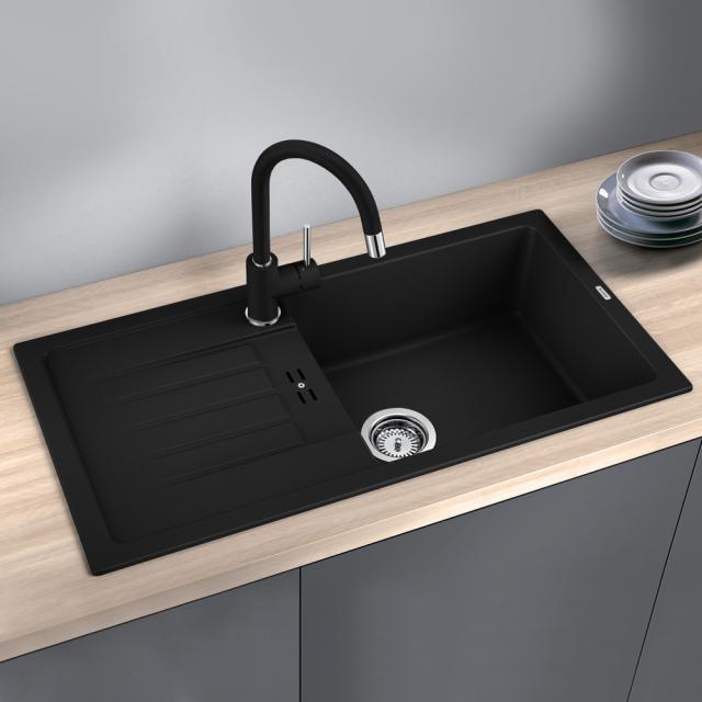 Blanco Favum XL 6 S drehbare Spüle schwarz