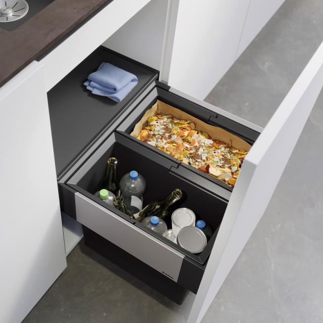 Blanco Select II Abfallsystem mit Systemabdeckung, für 50 cm Unterschrank