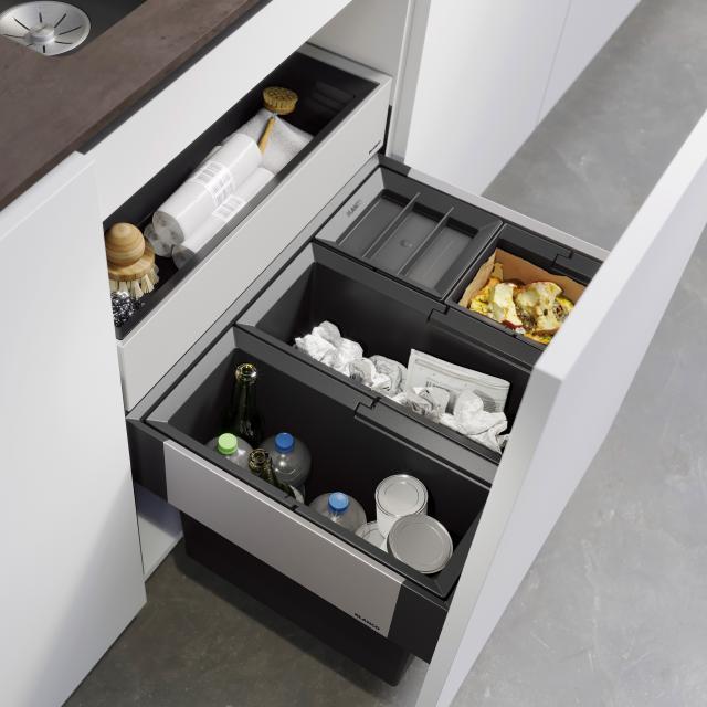 Blanco Select II Abfallsystem mit 1 Eimerdeckel, für 60 cm Unterschrank