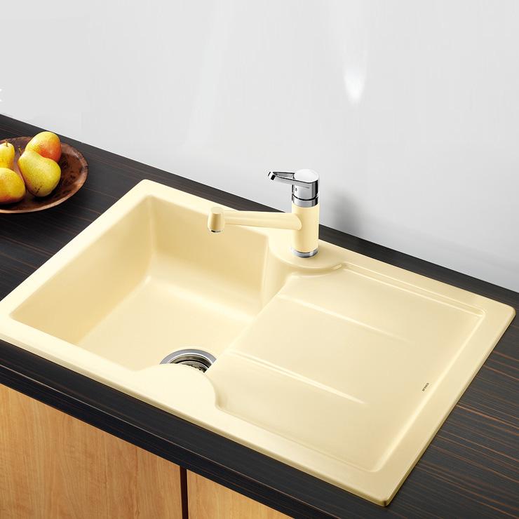blanco idessa 45 s sp le becken keramik kristallwei 514497 reuter. Black Bedroom Furniture Sets. Home Design Ideas