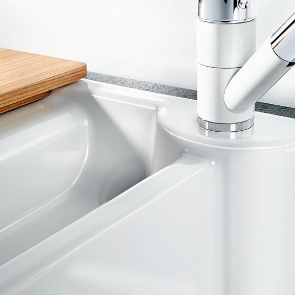 blanco idessa 6 s drehbare sp le becken keramik wei 516001 reuter. Black Bedroom Furniture Sets. Home Design Ideas