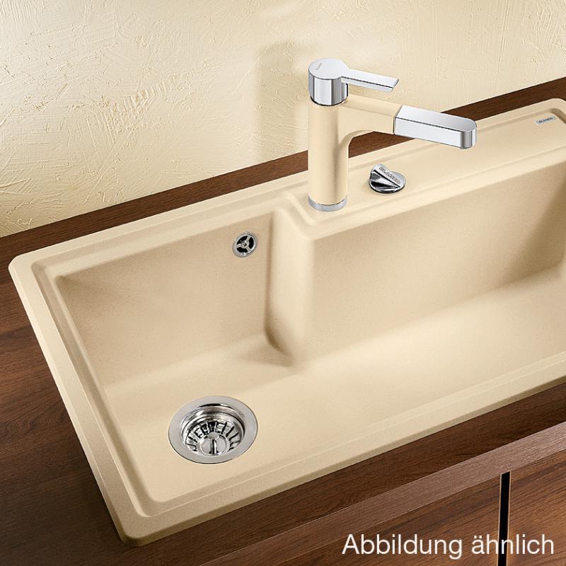 blanco plenta sp le becken silgranit puradur ii aluminium. Black Bedroom Furniture Sets. Home Design Ideas