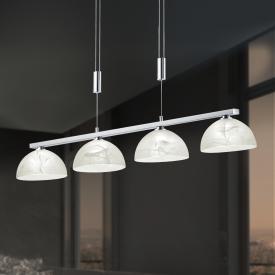 B-LEUCHTEN EBRO LED Pendelleuchte mit Dimmer