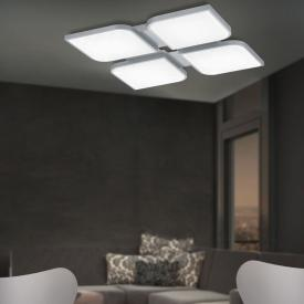 B-LEUCHTEN OTTAWA LED Deckenleuchte mit Dimmer und CCT, quadrat