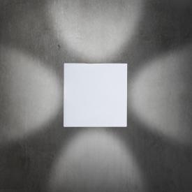 B-LEUCHTEN STREAM LED Wandleuchte, quadratisch