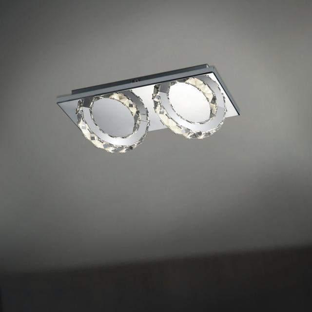 B-LEUCHTEN CASCADE LED Deckenleuchte 2-flammig