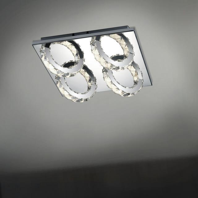 B-LEUCHTEN CASCADE LED Deckenleuchte 4-flammig