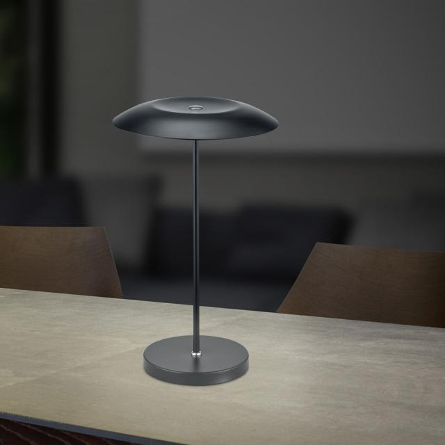 B-LEUCHTEN CURLING LED Tischleuchte mit Dimmer