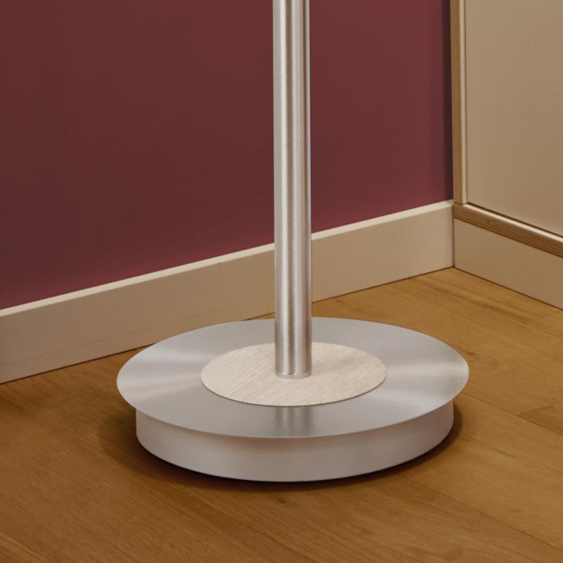 b leuchten malibu new wood led stehleuchte mit dimmer 60326 2 60 reuter. Black Bedroom Furniture Sets. Home Design Ideas