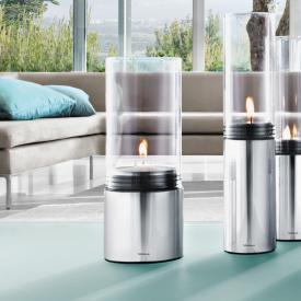Blomus FARO Windlicht mit Maxi-Teelicht edelstahl poliert/klar