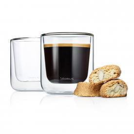 Blomus NERO Thermo-Kaffeegläser, 2er-Set