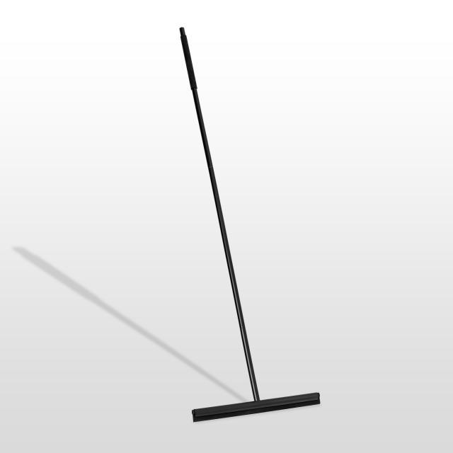 Blomus MODO Bodenwischer mit Wandhalterung schwarz matt