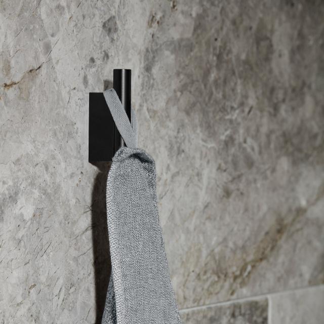 Blomus MODO Wandhaken schwarz matt