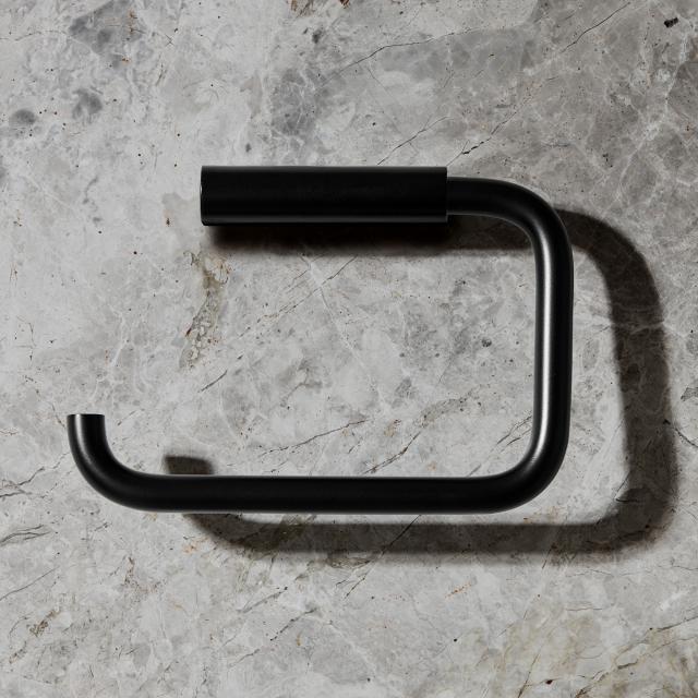 Blomus MODO WC-Rollenhalter schwarz matt