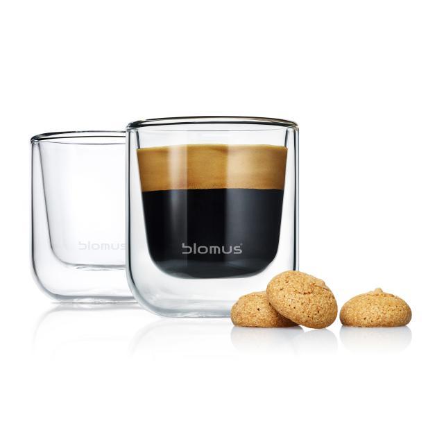 Blomus NERO Thermo-Espressogläser, 2er Set