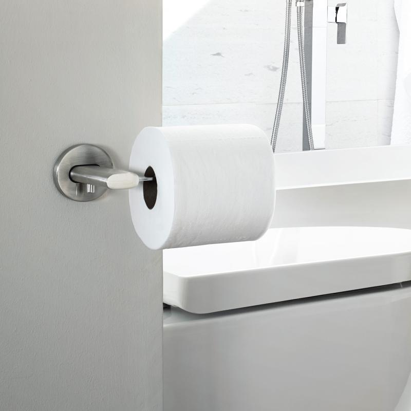 blomus areo wc rollenhalter edelstahl matt 68806 reuter. Black Bedroom Furniture Sets. Home Design Ideas