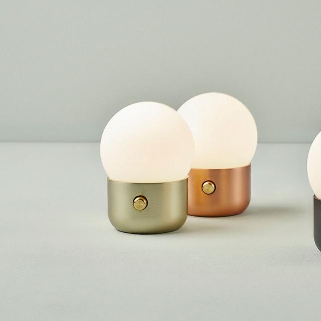B.lux Kup Camp USB LED Tischleuchte mit Dimmer