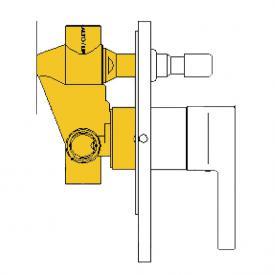 Boffi Liquid RESL05I Unterputz-Einbaukörper