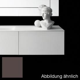 Boffi Soho BWRPB090SH Waschtischunterschrank für Einbauwaschtisch mit formgeschnittener Schublade kaffee