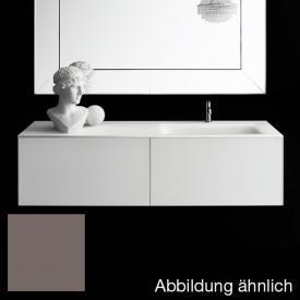 Boffi Soho Waschtischplatte mit seitlichem Becken taubengrau