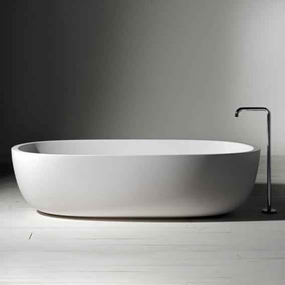 Boffi ICELAND Freistehende Oval-Badewanne weiß matt