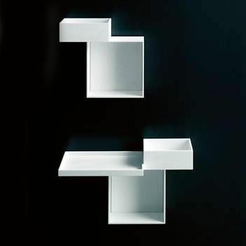Boffi Skyline KNYBX02 Hängeschrank mit 2 Fächern