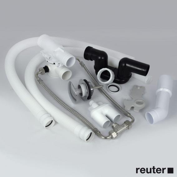 Boffi SWIM ANHC002 Ab- und Überlaufgarnitur mit Einlauf, Komplett-Set