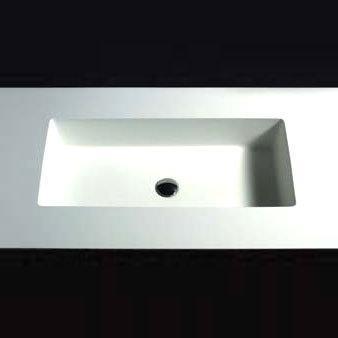 Boffi UNIVERSAL groß WRUNAB02 untergebautes Waschbecken
