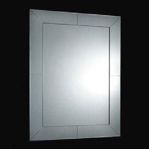 Boffi VENEZIANA Spiegel mit Aussenrand aus geschliffenem Spiegel-Glas