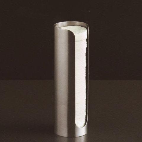Boffi Blade Behälter für Wattepads edelstahl satiniert