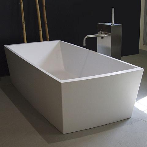 Boffi GOBI Freistehende Rechteck-Badewanne
