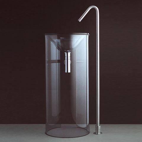 Boffi MINIMAL RIDM09 Auslauf für Waschbecken, für bodenstehende Montage ohne Ablaufgarnitur