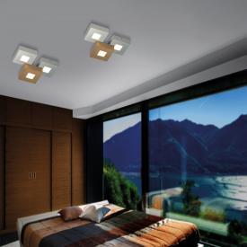 BOPP Cubus LED Deckenleuchte 3-flammig