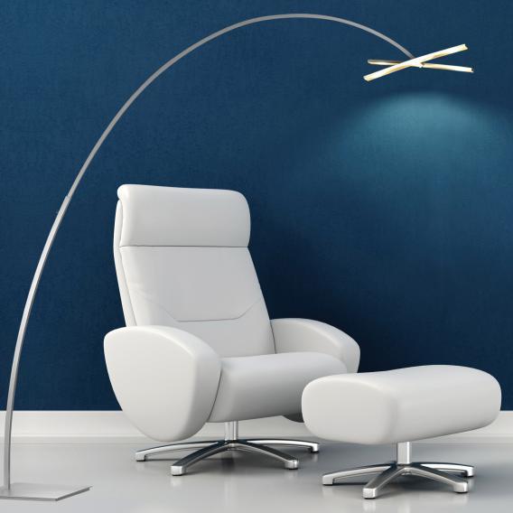 BOPP Arco LED Stehleuchte mit Dimmer