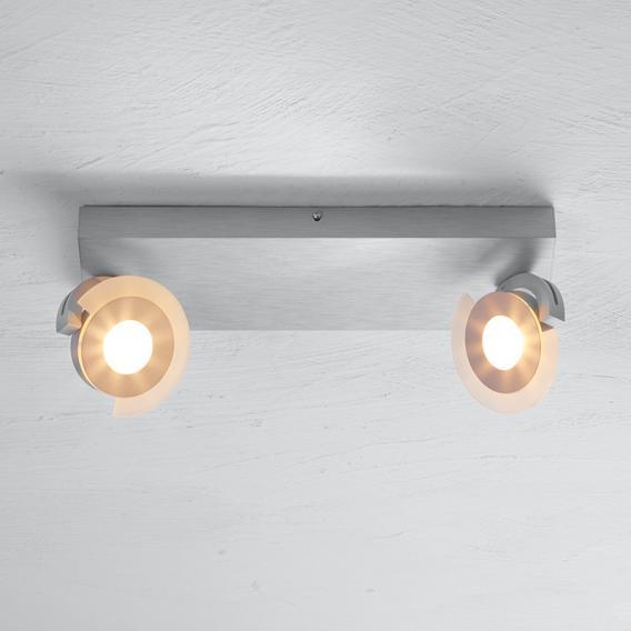 BOPP Exo LED Deckenleuchte/Spot, 2-flammig