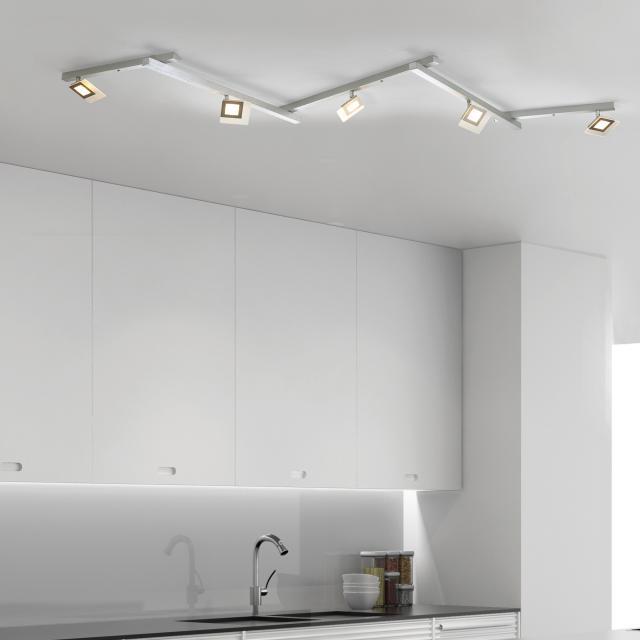 BOPP Line LED Deckenleuchte/Deckenspot 5-flammig